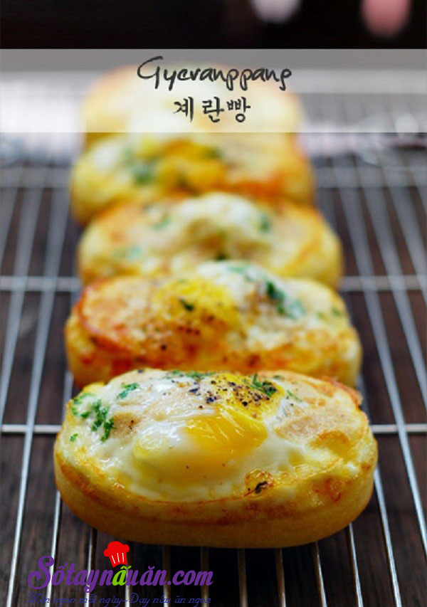 Cách làm bánh trứng - món ăn yêu thích nhất ở Hàn quốc kết quả