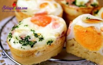Nấu ăn món ngon mỗi ngày với Mùi tây, Cách làm bánh trứng - món ăn yêu thích nhất ở Hàn quốc kết quả