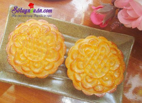 Cách làm bánh trung thu nhân custard thơm ngon cho bé kết quả
