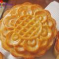 bánh nướng thập cẩm, Cách làm bánh trung thu nhân custard thơm ngon cho bé thành phẩm