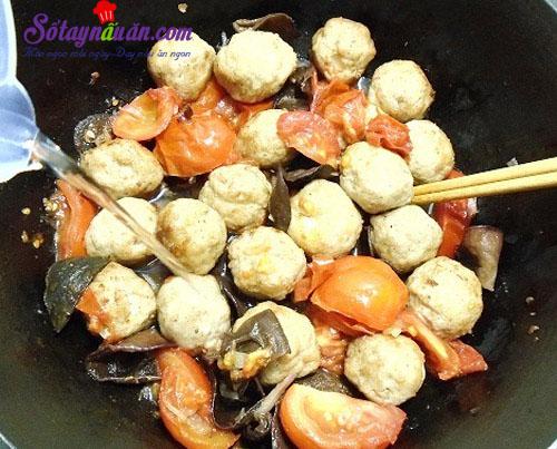 Cách làm chả cá viên trứng cút ngon đậm đà đưa cơm 11