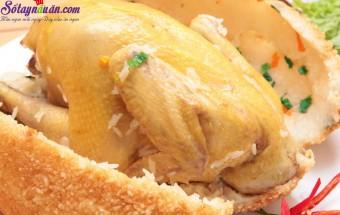 Nấu ăn món ngon mỗi ngày với Nước cốt dừa, Cách làm gà bọc xôi chiên 5