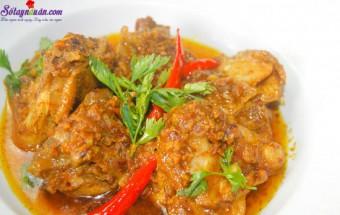 Nấu ăn món ngon mỗi ngày với Hạt tiêu, Cách làm gà sốt hạnh nhân thơm ngon 10