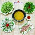 canh cải cúc nấu thịt, Chào thu với món lẩu cá khoai thơm ngon tuyệt vời kết quả