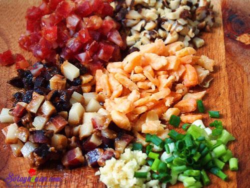 Cơm nếp chiên thập cẩm tuyệt ngon nhìn là muốn ăn ngay 2
