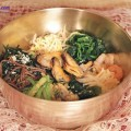 đậu phụ rán, cách làm cơm trộn hải sản 14