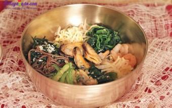 Nấu ăn món ngon mỗi ngày với Củ cải trắng, cách làm cơm trộn hải sản 14