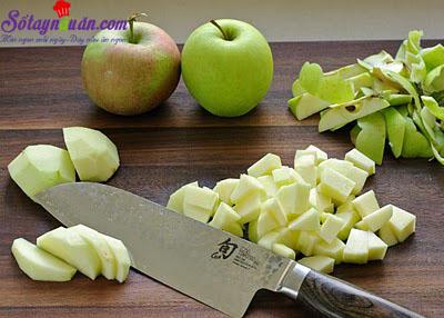 Công thức cho món bánh táo phủ đường kiểu Đức 1