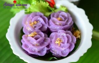 cách làm bánh, Hướng dẫn làm bánh của giới quý tộc Thái đẹp tuyệt kết quả