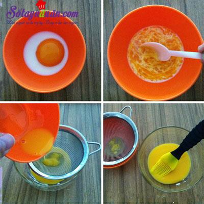 Hướng dẫn làm bánh trung thu kiểu Hồng Kông cực dễ 5