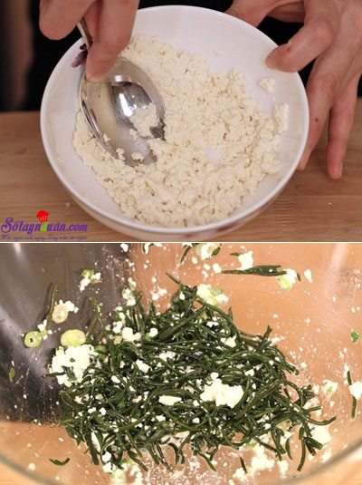 cách làm cơm trộn hải sản 11