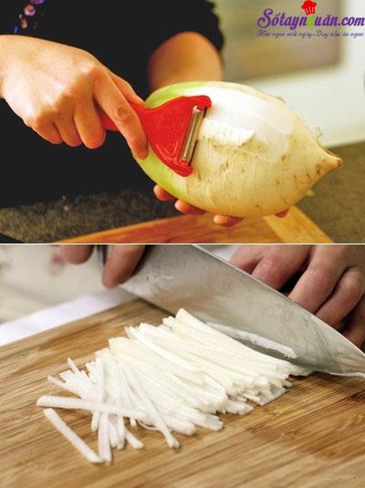 cách làm cơm trộn hải sản 3