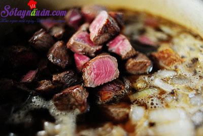 hướng dẫn cách làm món bò hầm bia ngon tuyệt 6