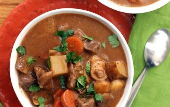 Nấu ăn món ngon mỗi ngày với Khoai tây, hướng dẫn cách làm món bò hầm bia ngon tuyệt 9