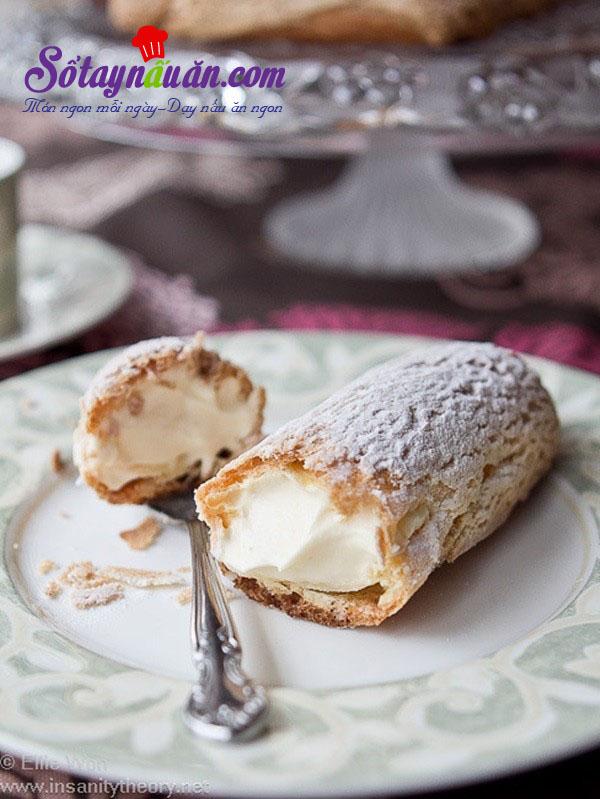 Cách làm bánh Éclair - bánh nữ công tước của Pháp kết quả 1
