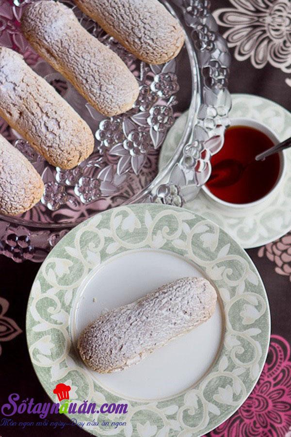Cách làm bánh Éclair - bánh nữ công tước của Pháp kết quả