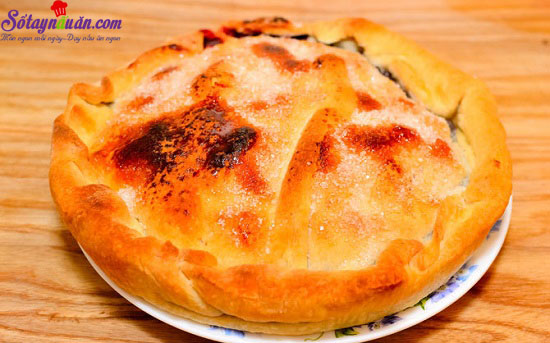 Cách làm bánh quả mâm xôi nướng phủ đường hấp dẫn 10