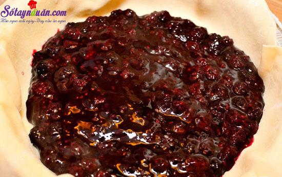 Cách làm bánh quả mâm xôi nướng phủ đường hấp dẫn 6