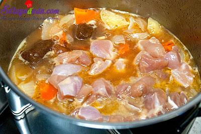 cách làm cà ri gà kiểu nhật  5