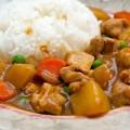 cách làm món cơm chiên Nhật Bản, cách làm cà ri gà kiểu nhật 8