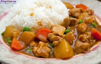 Nấu ăn món ngon mỗi ngày với Khoai tây, cách làm cà ri gà kiểu nhật 8