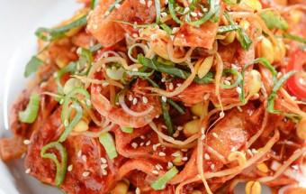 Nấu ăn món ngon mỗi ngày với Giá đỗ, Cách làm đậu phụ xào giá đỗ lạ mà tuyệt ngon kết quả