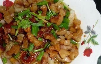 Nấu ăn món ngon mỗi ngày với Thịt ba chỉ, Cách làm mắm cá lóc chưng tóp mỡ 3