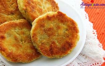 Món ăn ngon ngày Tết, cách làm món chả gà nấm chiên giòn 10