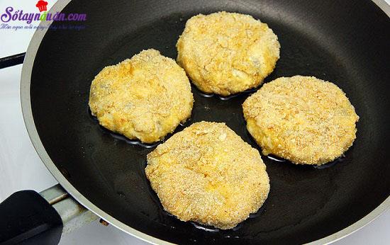 cách làm món chả gà nấm chiên giòn 8
