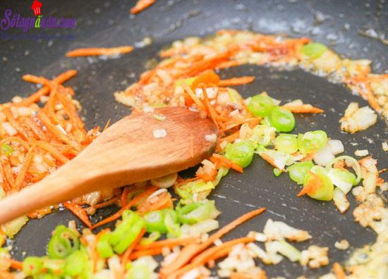 Cách làm món cơm chiên Nhật Bản 11