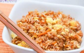 Nấu ăn món ngon mỗi ngày với Thịt heo, cách làm món cơm chiên nhật bản 16