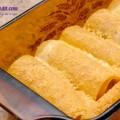 bí quyết làm bánh quy bọc xúc xích thơm ngon, Cách làm món Lasagna cuộn phô mai của Ý ngày cuối tuần10
