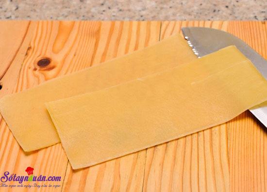Cách làm món Lasagna cuộn phô mai của Ý ngày cuối tuần 2