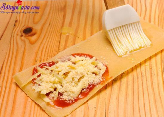 Cách làm món Lasagna cuộn phô mai của Ý ngày cuối tuần  6