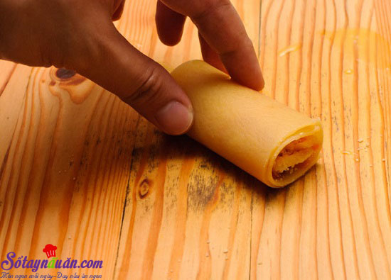 Cách làm món Lasagna cuộn phô mai của Ý ngày cuối tuần 7