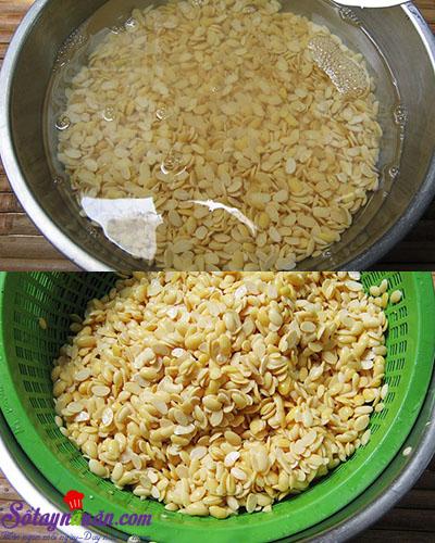 Cách làm sữa đậu nành lá dứa cho thời tiết se lạnh 3