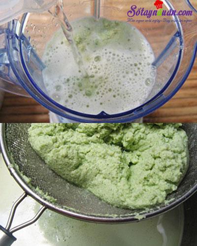 Cách làm sữa đậu nành lá dứa cho thời tiết se lạnh 8