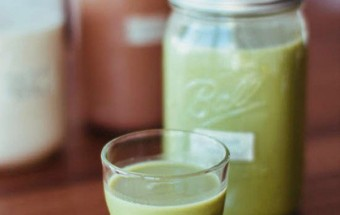 Làm đồ uống, Cách làm sữa đậu nành lá dứa cho thời tiết se lạnh kết quả 2
