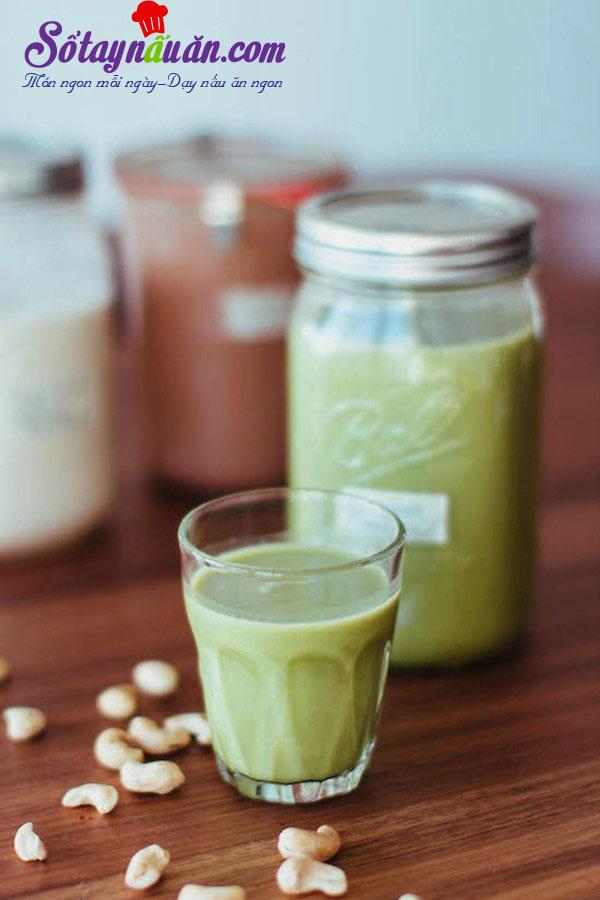 Cách làm sữa đậu nành lá dứa cho thời tiết se lạnh kết quả 2