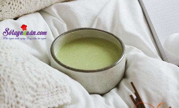 Cách làm sữa đậu nành lá dứa cho thời tiết se lạnh kết quả 3