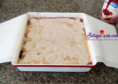 Công thức cho bánh bông lan cherry nướng thêm ngon 7