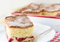 Công thức cho bánh bông lan cherry nướng thêm ngon