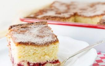 Nấu ăn món ngon mỗi ngày với Bột mì đa dụng, Công thức cho bánh bông lan cherry nướng thêm ngon kết quả