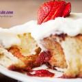 hướng dẫn làm bánh, Công thức cho món bánh quế cuộn mứt dâu ngon tuyệt hảo kết quả