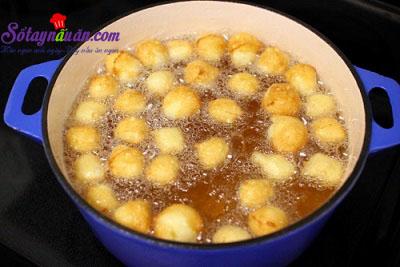 Hướng dẫn làm bánh zeppole - bánh rán mini kiểu Ý cực dễ 8