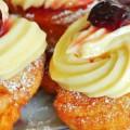 bánh chanh, Hướng dẫn làm bánh zeppole - bánh rán mini kiểu Ý cực dễ kết quả
