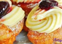 Hướng dẫn làm bánh zeppole – bánh rán mini kiểu Ý cực dễ
