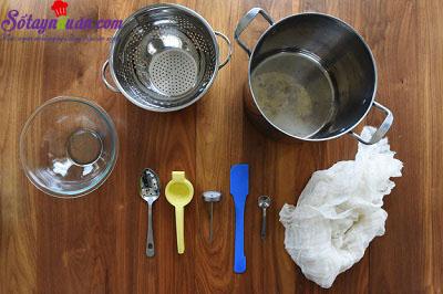 Hướng dẫn làm phô mai Ricotta bằng lò vi sóng cực dễ  nguyên liệu 1