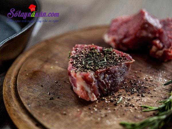 Những lỗi thường mắc khi làm thịt bò bạn cần tránh 3