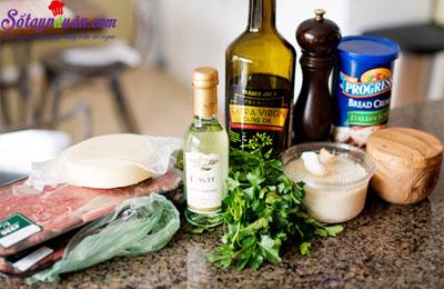 Thịt bò cuộn braciole ăn với pasta kiểu Ý  1